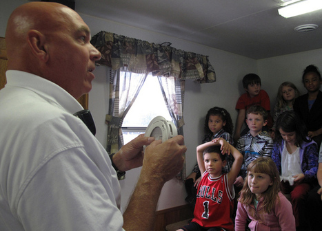 PHOTOS: Firefighters give students fire prevention tips - Medina County Gazette | Fire Safety | Scoop.it