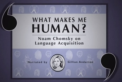 What Makes Us Human?: Chomsky, Locke & Marx Introduced by New Animated Videos from the BBC | arslog | Scoop.it