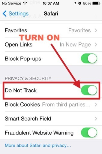 Four privacy settings you should enable in iOS 7 immediately | Apple, Mac, iOS4, iPad, iPhone and (in)security... | Scoop.it