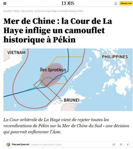 L'arbitrage sur la mer de Chine méridionale, par Ruolin Zheng   Géopoli   Scoop.it