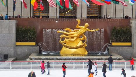 Atención: últimos días para disfrutar del hielo en el Rockefeller Center, Nueva York | Universo de Viajes | Scoop.it