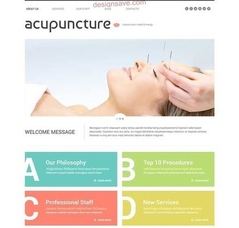 60+ Best Responsive Beauty and Spa WordPress Themes | Freebies and Resource | Scoop.it