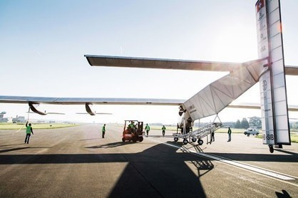 SOLAR IMPULSE - First Flight Solar Impulse 2 on Monday May 2nd | Positive climb | Scoop.it