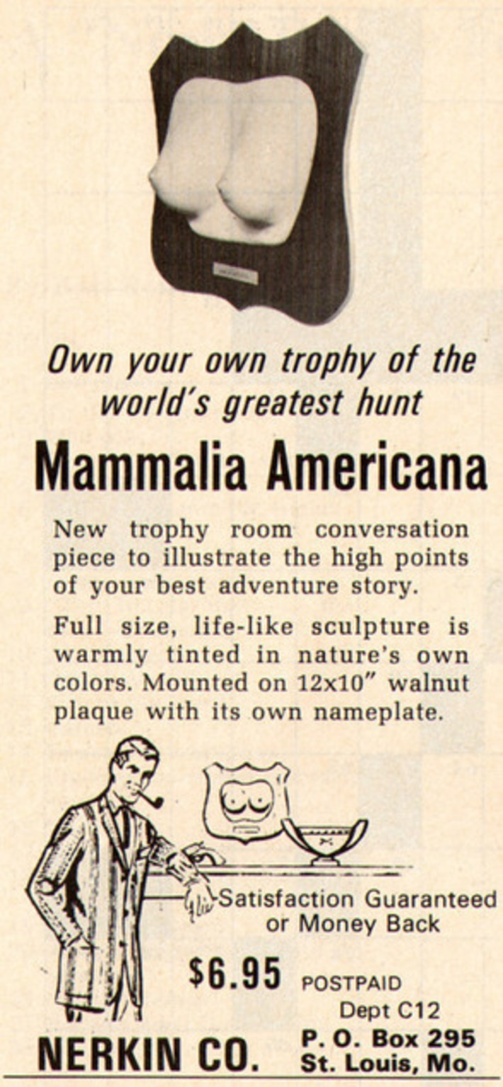"""Trophy of the world's greatest hunt"" 