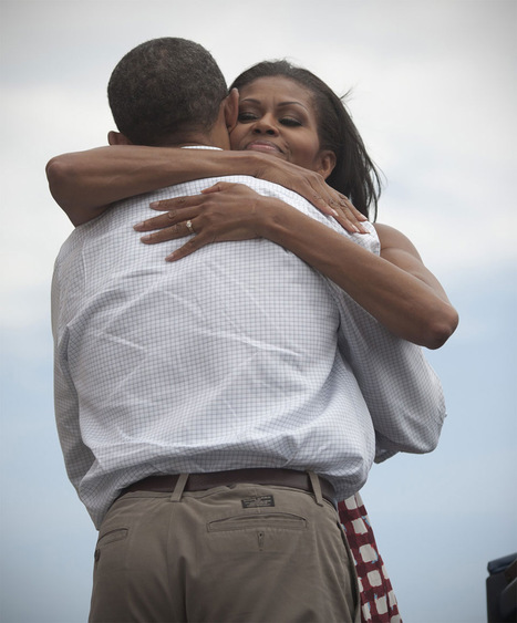 New Photo Shows How Michelle Enjoyed That Victory Hug | Photography and society | Scoop.it