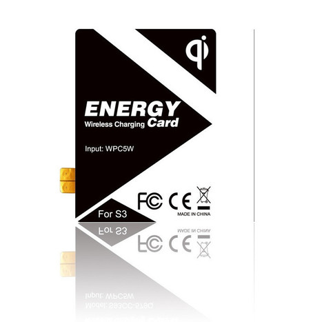 Qi Wireless Samsung Galaxy S3 energy card | Electronic Gadgets | Scoop.it