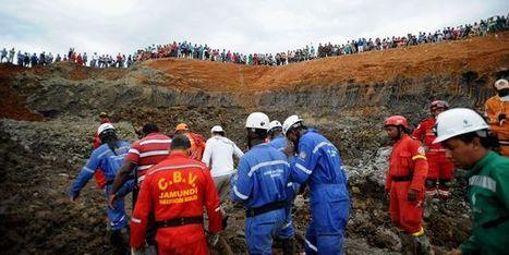 Des mineurs pris au piège dans une mine d'or illégale en Colombie   Amérique Latine : entre croissance et territoires en marge, une zone au développement inégal.   Scoop.it