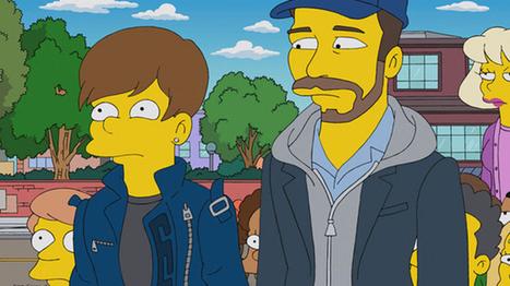 """Así fue el paso de Justin Bieber por """"Los Simpson"""" - Vos - La Voz del Interior   Farandula Chilena   Scoop.it"""