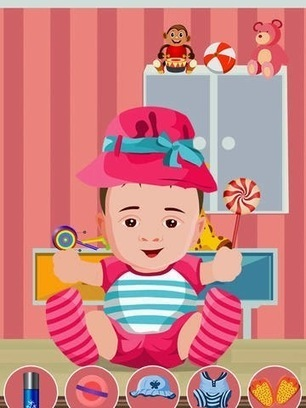 Baby Care & Dress up iPhone Game for Kids | Baby & Kids Shopping Zone | Scoop.it