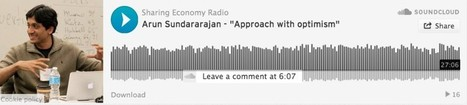 "Arun Sundararajan - Sharing Economy - ""Approach with optimism"" - OuiShare 