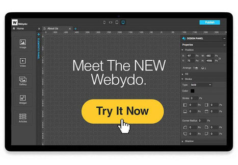Not for Amateurs – Manage Website Projects Seamlessly with the NEW Webydo | Content Creation, Curation, Management | Scoop.it