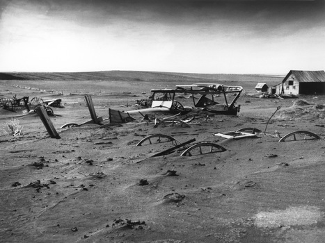 primary document #1: Dust Storm Buries Farm in South Dakota | The Dust Bowl and The Great Depression | Scoop.it