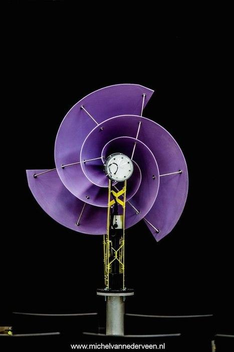 LIAM F1: pequeño aerogenerador urbano que puede hacer a los hogares energéticamente autónomos / EcoInventos.com | Educacion, ecologia y TIC | Scoop.it