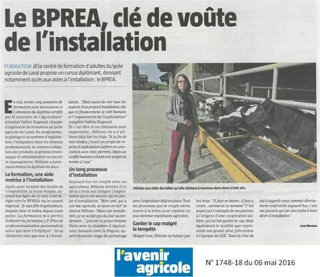 Une ancienne élève du CFPPA témoigne | Le lycée agricole de Laval | Scoop.it