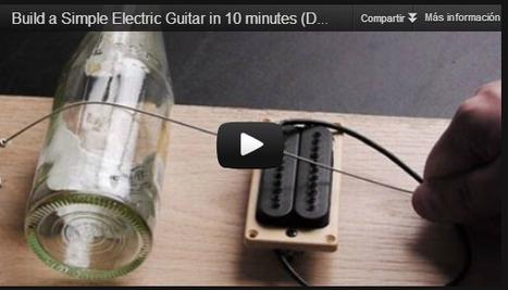 Como hacer una sencilla guitarra eléctrica ¡en 10 minutos! | tecno4 | Scoop.it