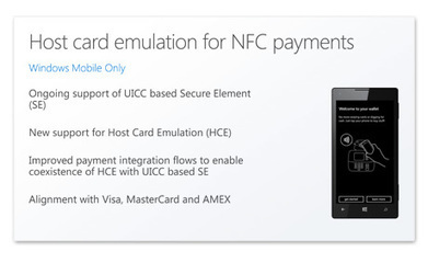 Windows 10 for mobile gets HCE | Agile Payments | 21st_Century Good: Social and Content | Scoop.it
