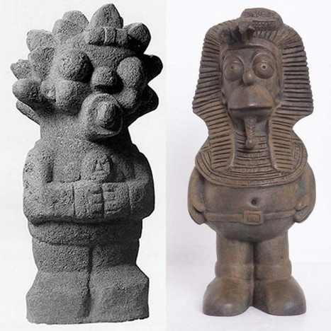 Fusing Ancient Pre-Columbian Art with Pop Culture | Archaeology News | Scoop.it