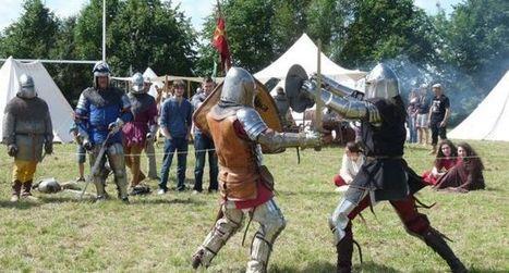 Château de Calmont  : campement médiéval et 5e feu de la saint Jean | L'info tourisme en Aveyron | Scoop.it
