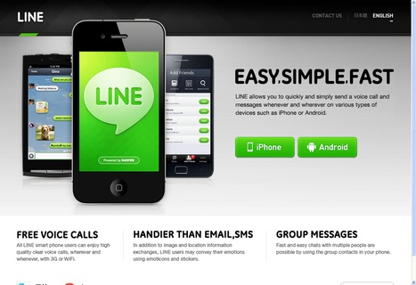 LINE - Easy Simple Fast Messenger | lebron james | Scoop.it