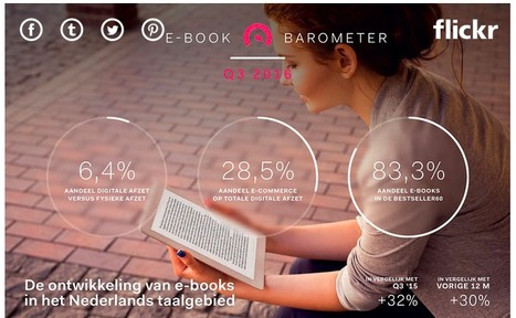 Ebooks in Nederland: de nieuwe cijfers (Q3 2016) - Vakblog | trends in bibliotheken | Scoop.it