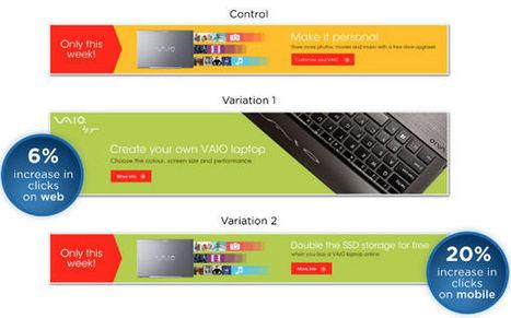 6 éléments à tester pour optimiser ses bannières et les performances de sa publicité display   Blog Business / WebMarketing / Management   Business   Webmarketing   Management   Scoop.it