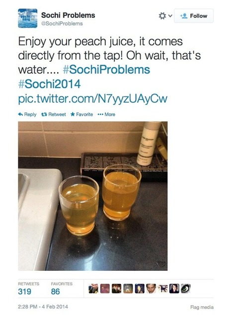 Cultural Critique of the #SochiProblems Meme | Geography Education | Scoop.it