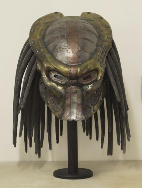 Steampunk Predator Helmet   All Geeks   Scoop.it
