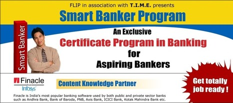 Smart Banker Program with Finacle from Infosys by FLIP   Banking Courses   Scoop.it