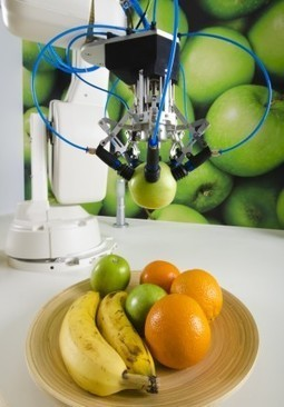 Soft Robots Get a Grip on Fruit Picking | Robotic applications | Scoop.it