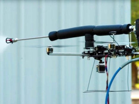 This drone can paint your house better than you can | Technology and its impacts on our lives | Scoop.it