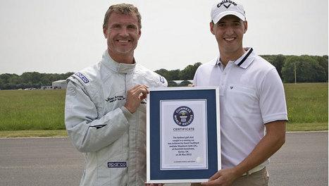 Vidéo : Coulthard attrape une balle de golf avec le Mercedes SLS ... | Golf News by Mygolfexpert.com | Scoop.it