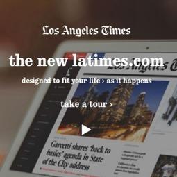 Les nouveaux choix ergonomiques du LATimes.com | Flux événementiels | Scoop.it
