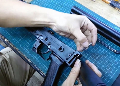 Hephaestus Folding Stock Adapter Install | Popular Airsoft | Airsoft Showoffs | Scoop.it