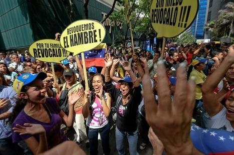 Venezuela: faible mobilisation anti-Maduro pour l'opposition, synonyme d'usure   Venezuela   Scoop.it