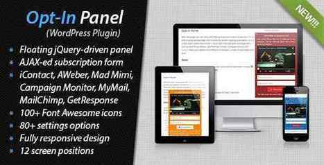 Free Download Opt-In Panel v1.28 – WordPress Plugin | Webdesign by Accesscloud Webdesigns | Scoop.it