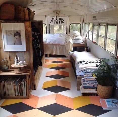 Combi van camping car et caravane inspirati for Idee van deco