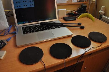 MIDI Arduino Drums | Raspberry Pi | Scoop.it