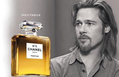 Chanel N. 5: Brad Pitt ci dice che è inevitabile! | Collective Diary | Shopping&Tendenze | Scoop.it