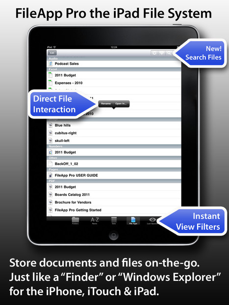 Powerful File Transfer App for iPad - FileApp Pro   iPads and Tablets in Education   Scoop.it