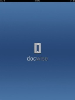 Docwise is an app that helps physicians stay up to date on medical journals and news | oncoTools | Scoop.it