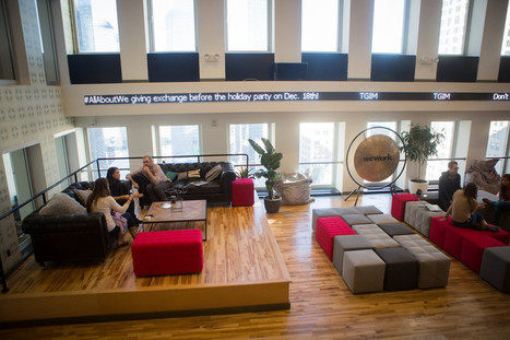 WeWork: Now a $5 Billion Co-Working Startup | The Telco Insider | Scoop.it