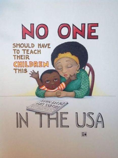 Mary Engelbreit's Ferguson illustration draws controversy - STLtoday.com (blog) | Illustration Cloud - in the wild | Scoop.it