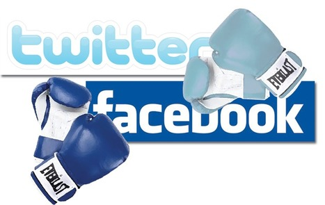 Facebook vs. Twitter | On the Bullseye | Scoop.it