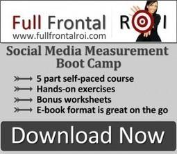 5 Categories of Social Media Measurement — Full Frontal ROI | Social Media Measurement Analytics ROI | Scoop.it