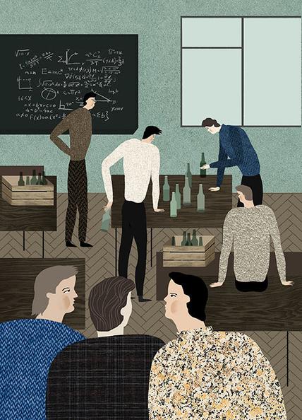 Katerina Gorelik's textural illustrations mix the everyday with the dramatic | El Mundo del Diseño Gráfico | Scoop.it