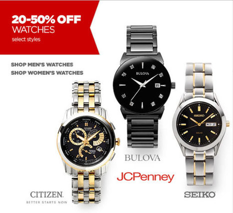 Watches have always been a man's thing; check out amazing wrist watches for men at JCPenney | Eavan Trendz Outlook | Scoop.it