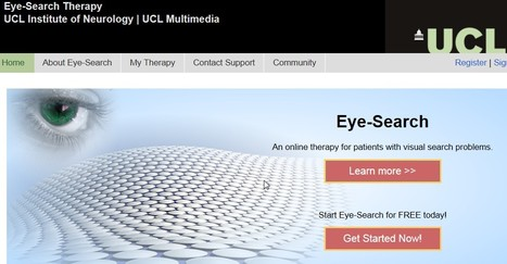 Eye-Search - UCL's free therapy for visual search problems | Inclusive teaching and learning | Scoop.it