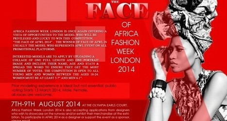 FACE OF Africa Fashion Week London 2014 | AfroCosmopolitan | Fashion | Scoop.it