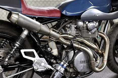 An-Bu XS650 Monsters | Cafe Racers | Scoop.it