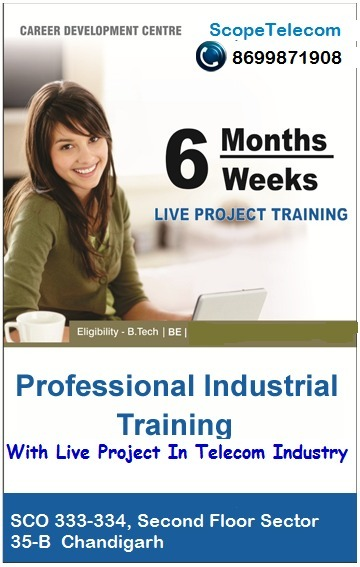 Industrial Training In Telecom Sector | Telecom Company in Chandigarh | Scoop.it